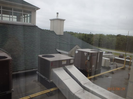Hilton Garden Inn Halifax Airport: View from our window