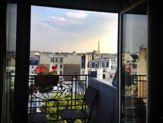 Hotel de Banville : View