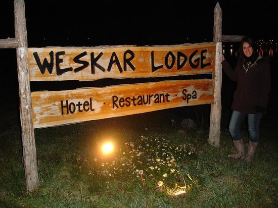 Weskar Patagonian Lodge: Entrada