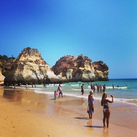 Praia de Alvor: preciosa playa