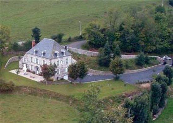 Chambre d'hôtes la Nichée : vue aérienne