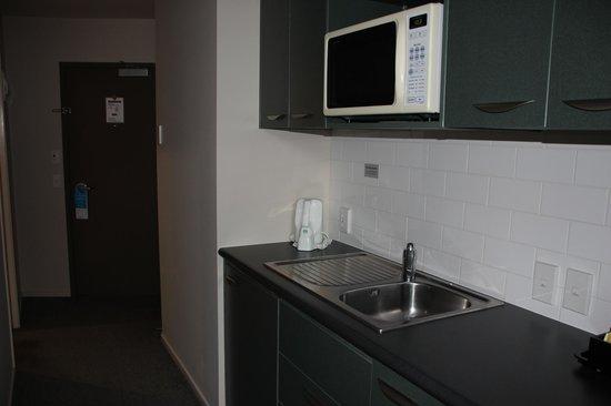 Scenic Hotel Auckland : Cozinha