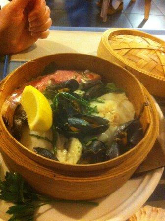 La Pecherie Ducamp: Tarnis Thai Steamed Fish