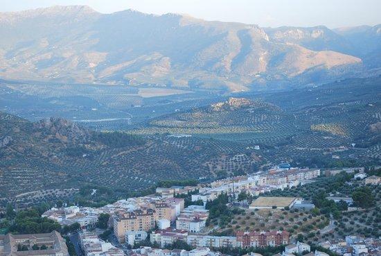 Parador de Jaen: View from the Parador
