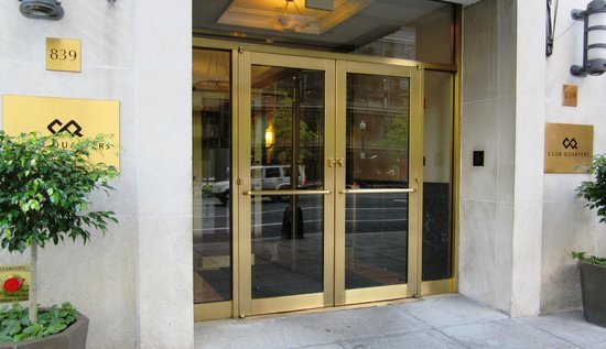 Club Quarters Hotel in Washington, D.C.: Hotel Entrance