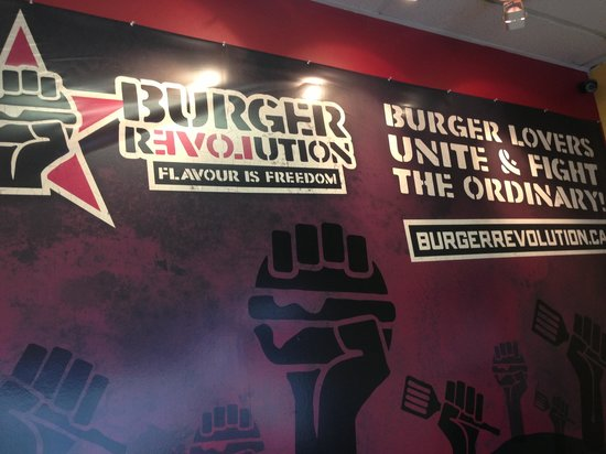 Burger Revolution : Delicious burgers!