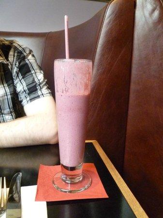 Balans Soho Society: very berry smoothie