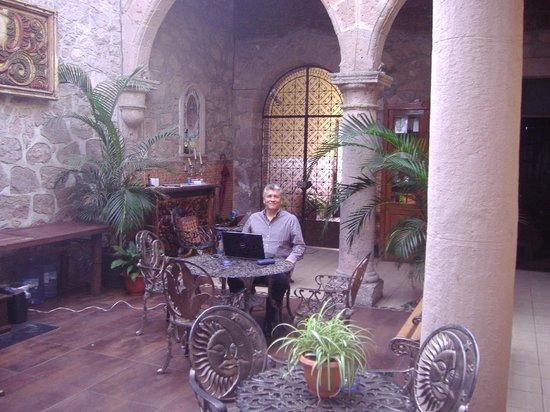 Hotel Zapata 91: Area done puedes sentarte a trabajar