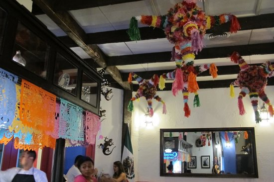 La Cantina Mexicana: decoration