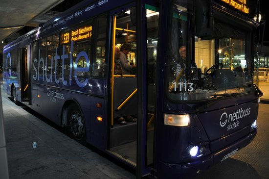 Gardermoen Airport Hotel: Coach S 55 to the hotel