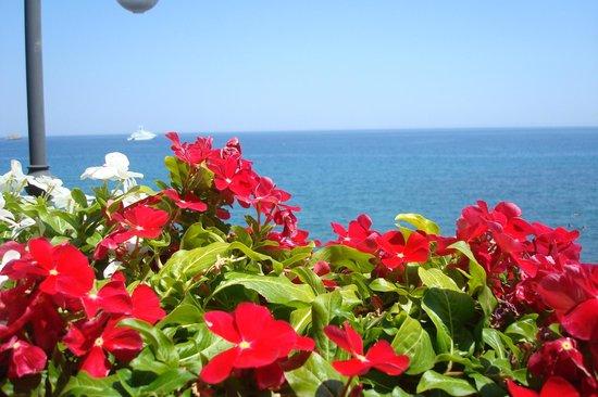 B&B Miramare: Vista desde nuestro balcón