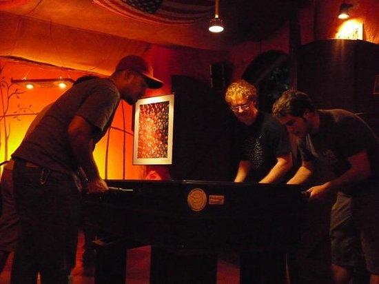 La Tintorera Restaurante & Pub: Soccer table