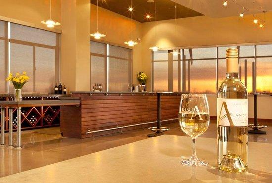 Andis Wines: inside the spacious tasting room