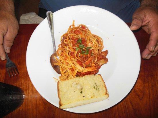 Paesano's: Creole pasta