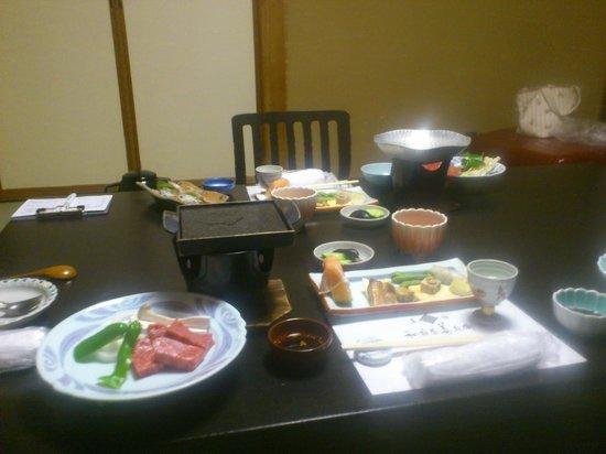 Izumiya Zenbei: 夕食