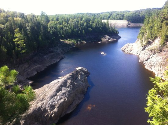 Grand Falls Gorge : Spectacular view!