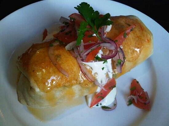 Balans Soho Society Cafe : breakfast burrito