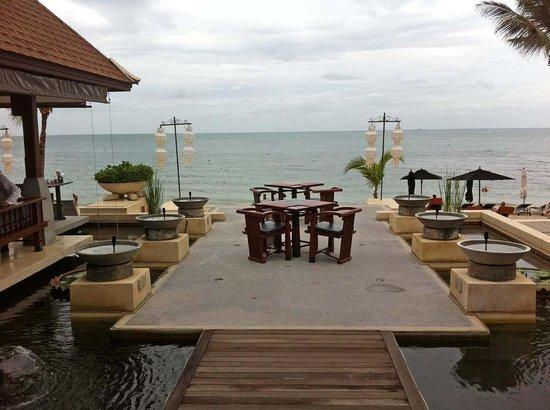 Pavilion Samui Villas & Resort: Restaurant Pavilion Area