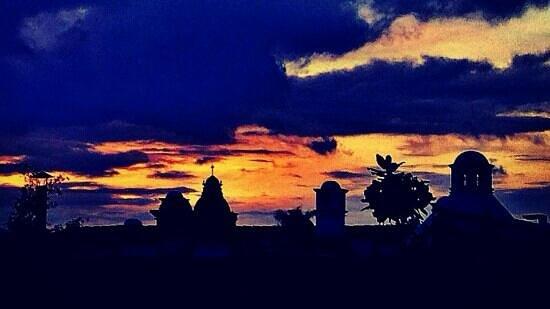 Punto Cero: vista desde la terraza! gracias Mike por la fotografía