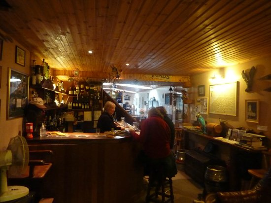 Eagle Barge Inn: the interior of the Eagle Barge