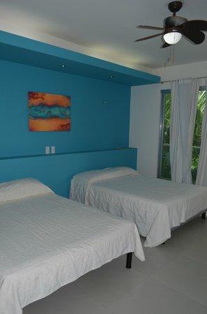 Hotel Villa Escondida Campeche: habitacion doble