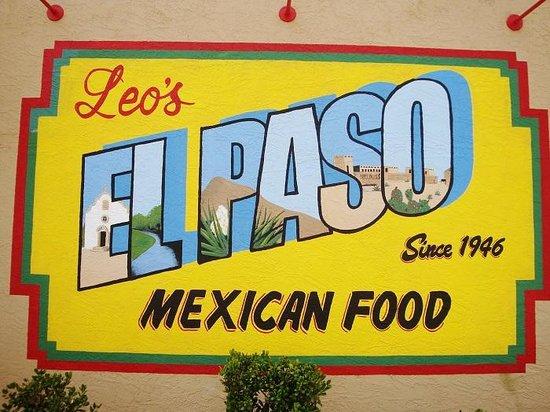 Leo S Mexican Food El Paso