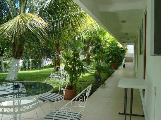 Hotel Villa Escondida Campeche: pasillos