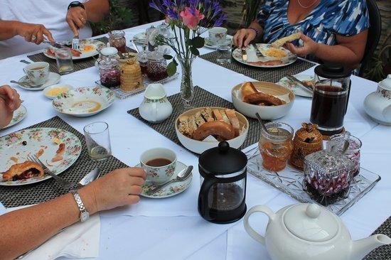 Glandyfi Castle: breakfast