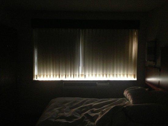 Hyatt Place Milwaukee West : Blackout Curtains