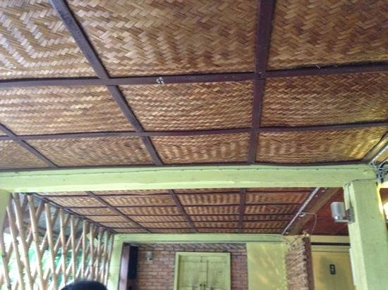 Living Room: The Bamboo Ceiling Of The Restaurant Part 57