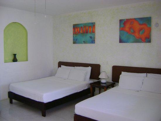 Hotel Villa Escondida Campeche: en la habitacion doble
