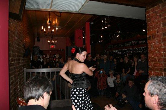Restaurant Copas: Flamenco show at the Copas