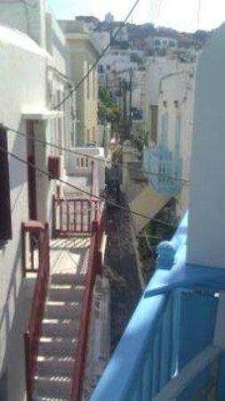 Philippi Hotel: From the valcony