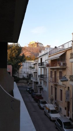 Acropolis View Hotel: View from the room