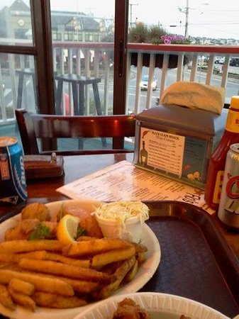 Flo's Clam Shack : scallops with a view