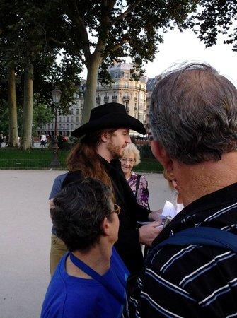 Dark Paris : Father Sebastiaan, the leader of the Paris Vampire and Ghost Tour