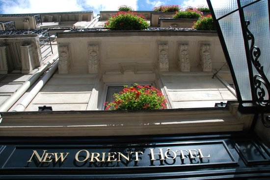 New Orient Hotel: The Hotel Exterior