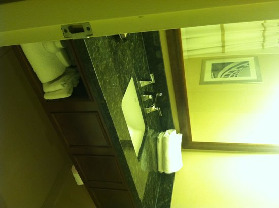 Bethesda Marriott: Bathroom sink