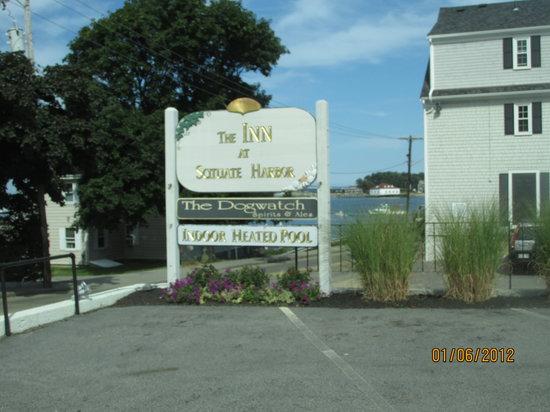 The Inn at Scituate Harbor: The Inn Sign