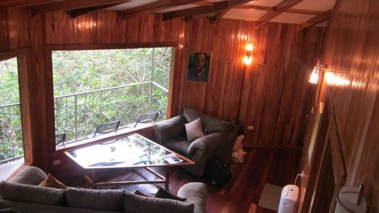 Neverland Living Room Picture of Hidden Canopy Treehouses