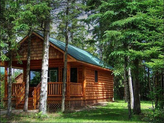 Attirant Mackinaw Mill Creek Campground: We Have Camping Cabins With And Without  Bathrooms