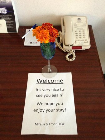 Best Western Hermiston Inn: VIP service