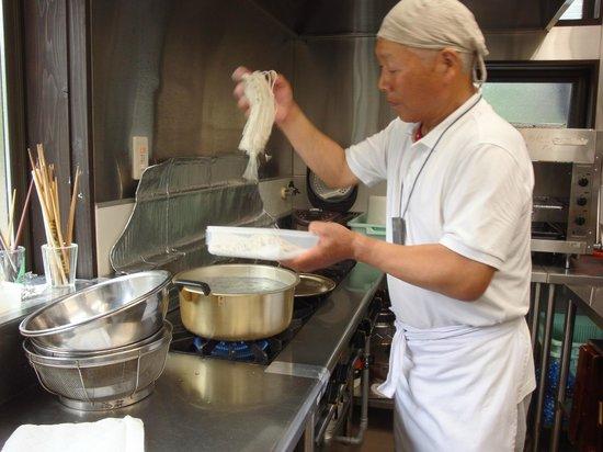Tanekura Inn: Soba-making experience