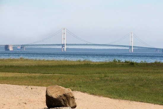 mackinaw city men Historic suspension bridge in mackinaw city and st ignace emmet county,   since the mackinac bridge is the only large man-made object in the area, and.