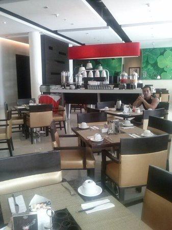 Courtyard Panama at Metromall Mall : Lugar de desayuno