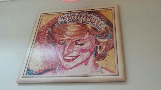 Jelly Belly Factory Tour: Diana picture made by candy