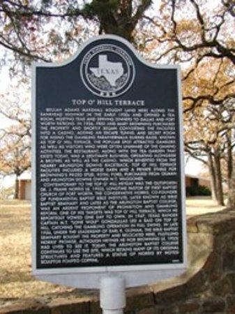 Top O'Hill Terrace: Texas Historic Landmark