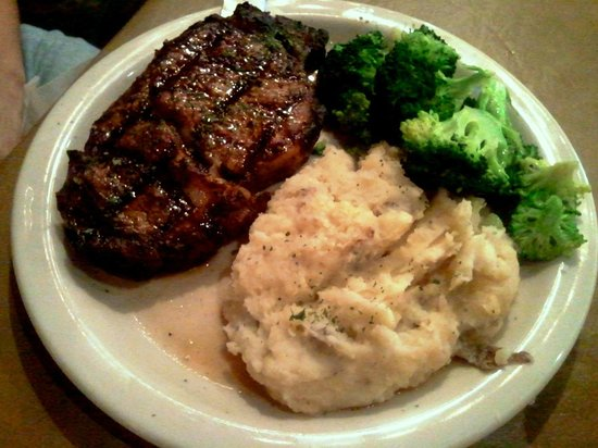 North Rig Grill : Wife's meal