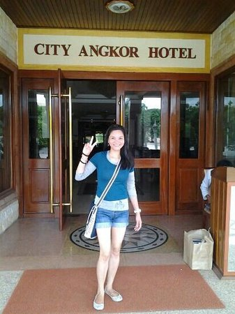 City Angkor Hotel: Happy to be here★I love to travel