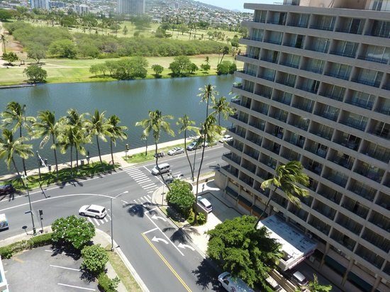 view from our 12th floor balcony picture of aqua aloha. Black Bedroom Furniture Sets. Home Design Ideas